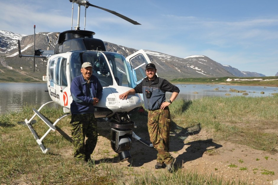 Manske and hsi guide Levi with cineflex